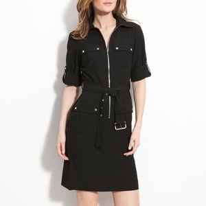 Michael Kors Black Shirtdress